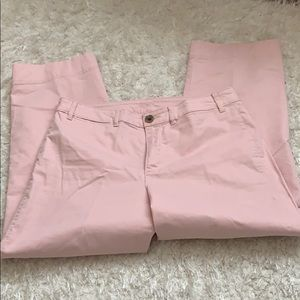 Old Navy pink pants 12